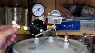 Converting a Harbor Freight Paint pressure tank into a Resin pressure tank for knife scales