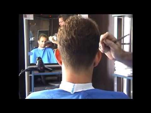 Corte de pelo hombre cola de pato