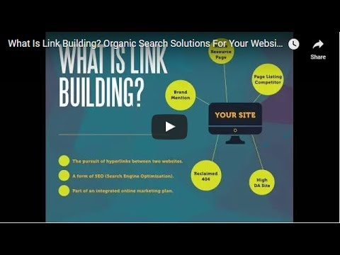 What Is Link Building? Organic Search Solutions For Your Website