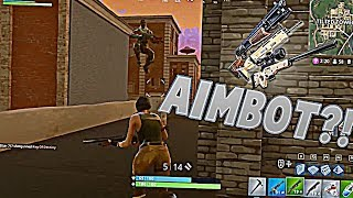 USO AIMBOT??!! | CLIPS FORTNITE | santidead