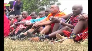 VIDEO: Maasai Morans undergo colourful initiation in Narok