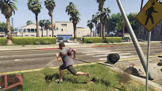 GTA 5 Mods #13 - The Flash vs Quái vật bí ẩn Abomination