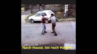 Vater 80 schlägt Sohn 55 😂 Verrückter Balkan lustige Balkaner, lud balkan HD