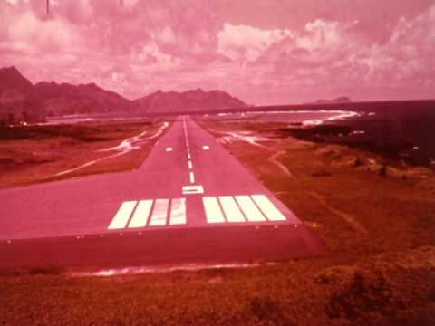 F 2370 American Airlines Pago Pago, Nandi Airport Approaches