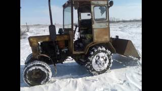 Самодельный трактор // Жизнь в деревне.