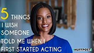 5 Things I Wish Someone Told Me When I First Started Acting   Skye P. Marshall