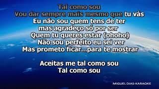 Fernando Daniel - Tal Como Sou (Karaoke) Versão MP3