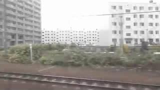 JR北海道 快速「エアポート」車窓(札幌→新千歳空港)
