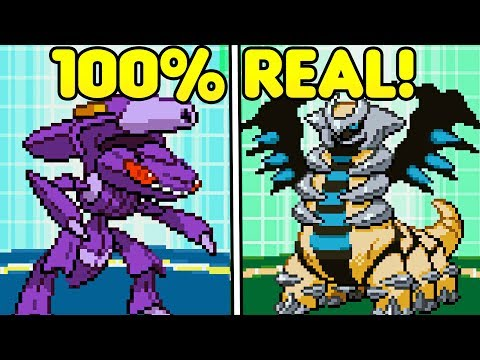 LEGIT Mythical Pokemon?! How To Get Event Pokemon In Gen 4 & 5!