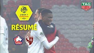 LOSC - FC Metz ( 0-0 ) - Résumé - (LOSC - FCM) / 2019-20