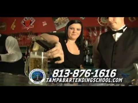 American bartending school commercial
