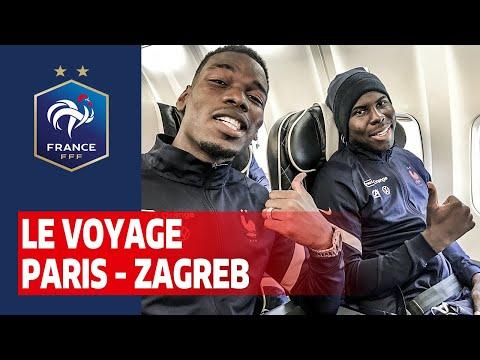 Le voyage à Zagreb avec les Bleus, Equipe de France I FFF 2020