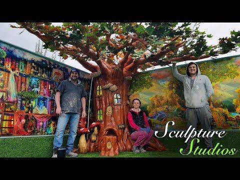 Magical Enchanted Nursery / Kindergarten Fairy Tree by Sculpture Studios
