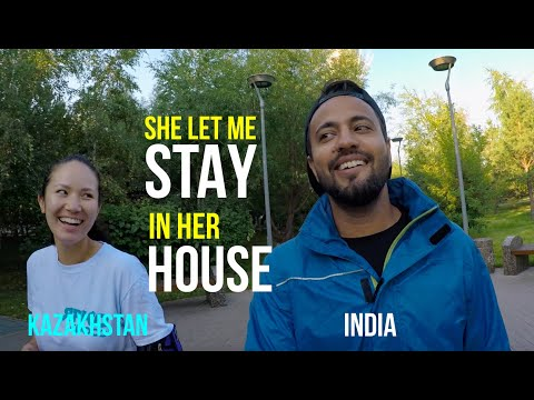 Punjabi in Astana | Couchsurfing | Burabay | Indian in Kazakhstan | Travel Vlog