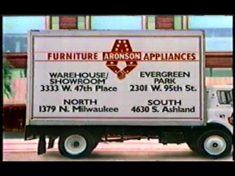 Aronson Furniture Commercial 1985 Youtube