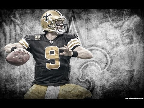 Drew Brees 2015 Saints Highlights - League Leading 4,870 Passing Yards, 32 TDs!