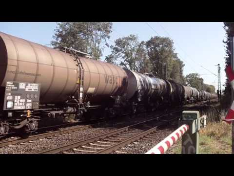 Chemical Tankers (Boilers) Train at Anrath,Germany 5.8.2015