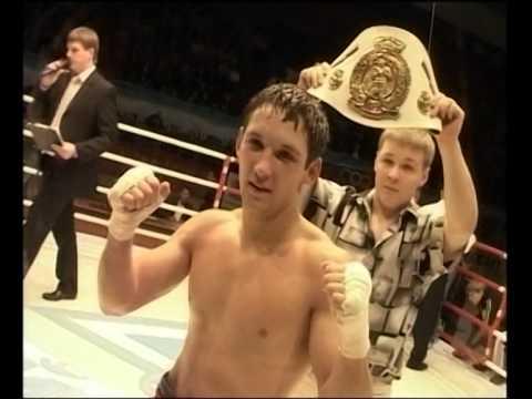 Boxer Vyacheslav Gusev (Russia)