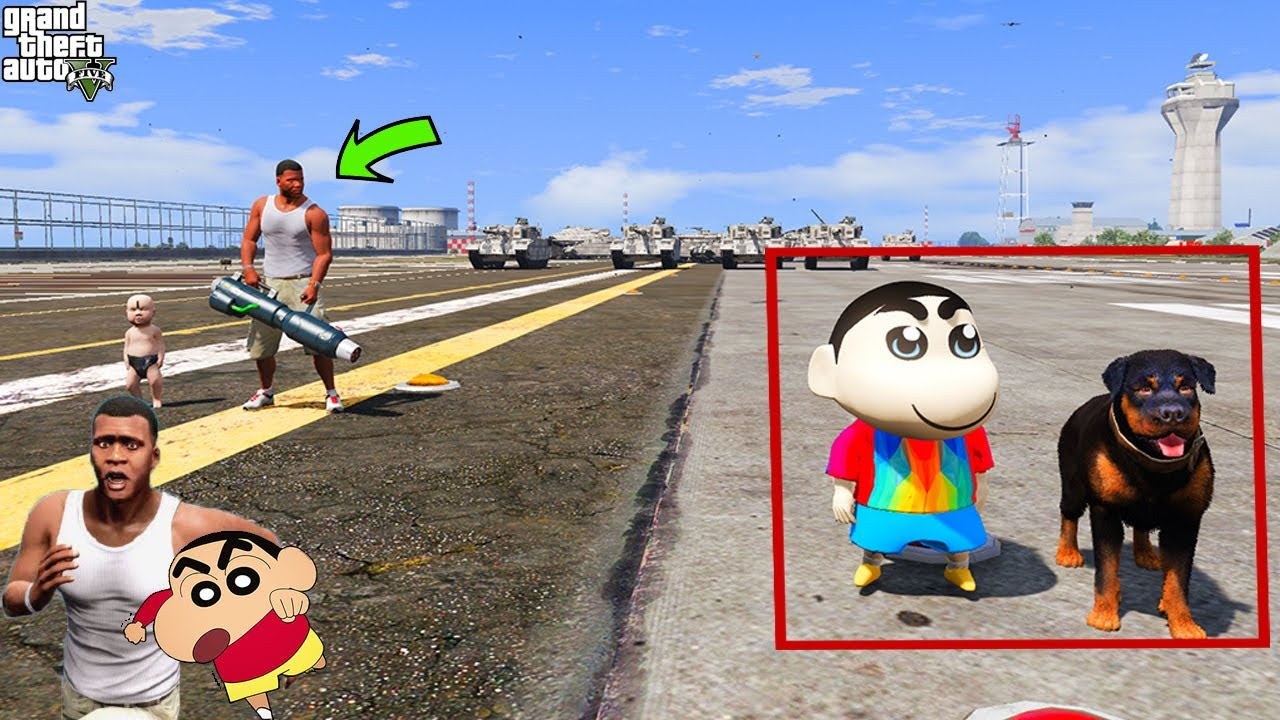 SHINCHAN & FRANKLIN PLAYING HIDE & SEEK in GTA5 l Varun the gamer 2.0 l GTA 5 MODS