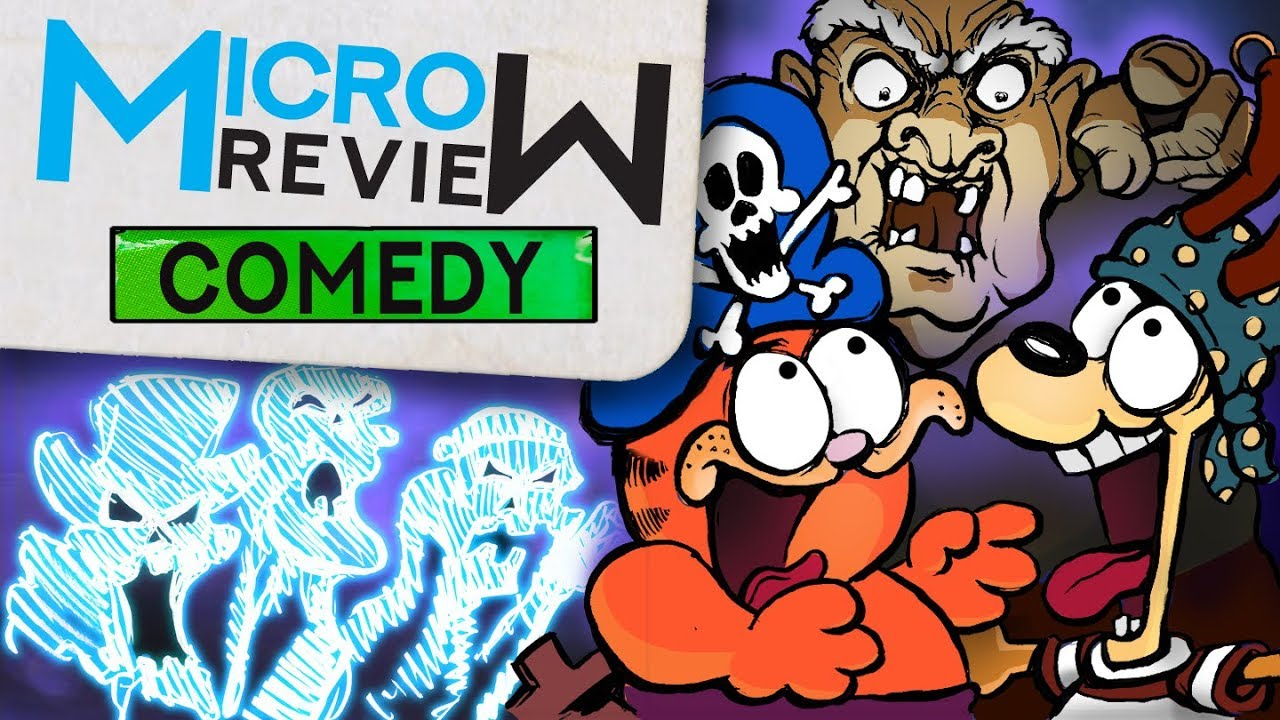 Garfield S Halloween Adventure 1985 Micro Review Youtube