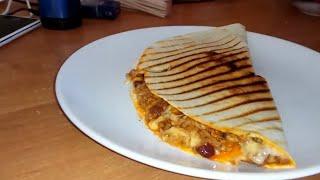 Самая вкусная Кесадилья с говяжим фаршем,  фасолью и кукурузой