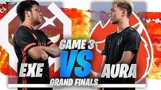 GRAND FINALS EXE vs AURA GAME 3 JUSTML CUP