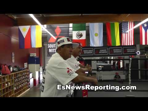 maidana vs mayweather 2 chino strength workout fitness EsNews