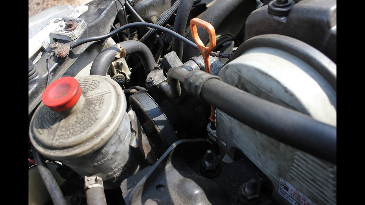 How to Change Power Steering Pump Honda Civic  YouTube