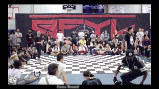 Step Ya Game Up 2014] HipHop Semi Mini v. Riceball