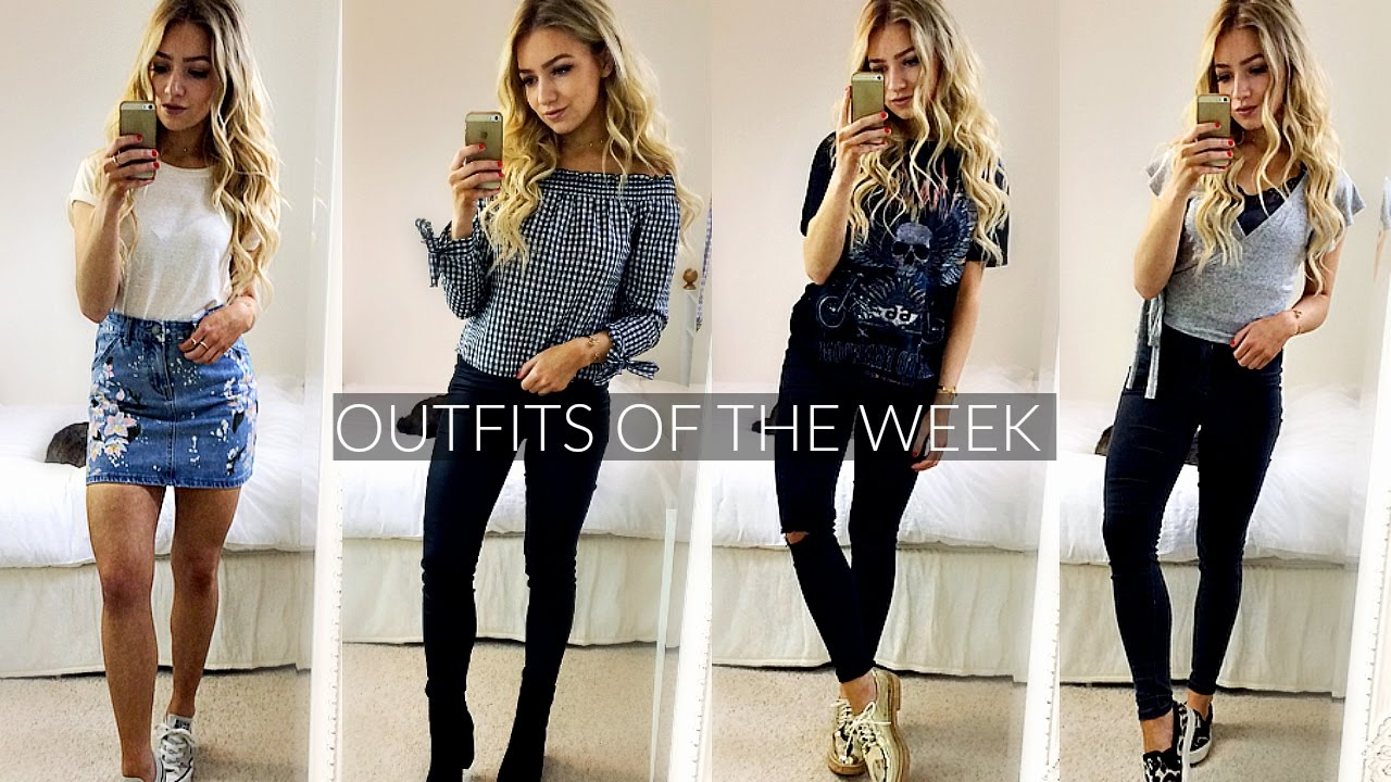 Outfits 2017 Outfits Of The Week 2017 Spring Outfit Ideas Lookbook