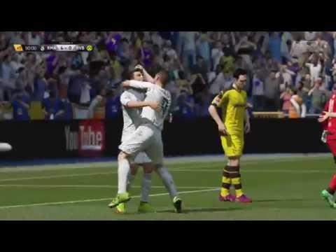Cristiano Ronaldo EPIC!!! Celebration after scoring Goal - Fifa 16 PS4 [HD]