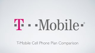 T-mobile Cell Phone Plan Comparison!