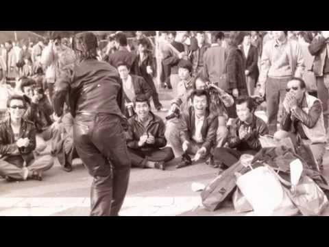 1981年(昭和56年)懐かしの 原宿 ローラー族 ロックンローラー ツイスト ロカビリー