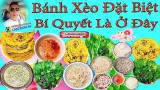 Vietnamese Pancakes/Bí Quyết Làm/Bánh Xèo/Giòn Tan(Những Món Nghon Ưa Thích) | MrAndy Official #36