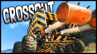Crossout - Explosive Fun! Porcupine Minelayer Explosive Barrels - Crossout Gameplay