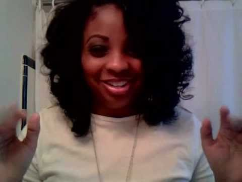 Roller Set On Virgin Indian Remy Deep Curly Hair Youtube