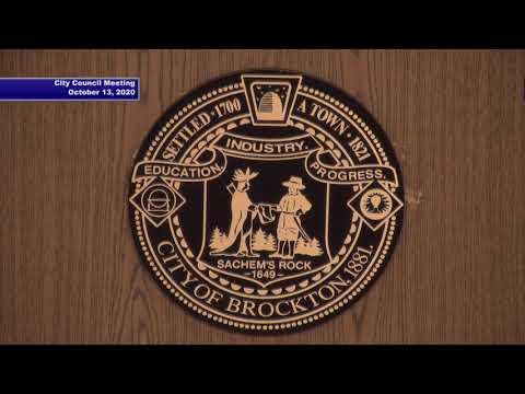 Brockton City Council Meeting 10-13-20