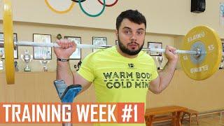 WEEK #1 / TOROKHTIY_GANG training program