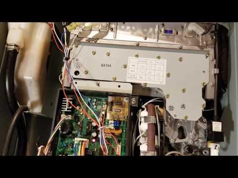 Rheem Richmond tankless water heater repair, look for flame rods code 11 or 12