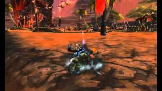 Orgrimmar, Mount Goblina i coś jeszcze.... Orgrimmar, Gobiln Mount and something more...