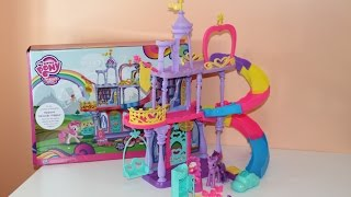 My Little Pony Princess Twilight Sparkle's Friendship Rainbow Kingdom Playset - Slide