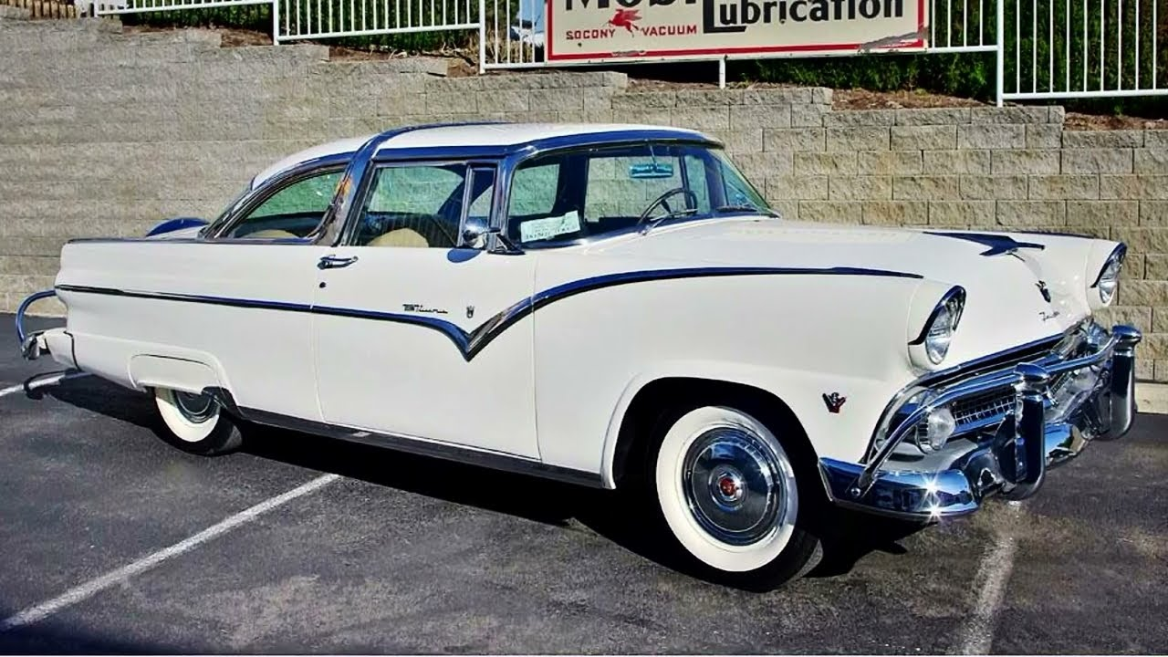 1955 ford fairlane crown victoria 272 v8 youtube. Cars Review. Best American Auto & Cars Review