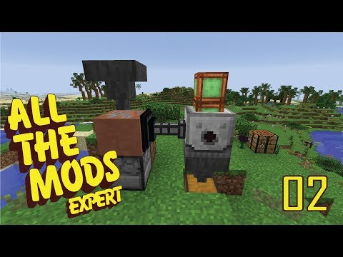 All The Mods Expert - 02 - OUR FIRST COPPER INGOTS