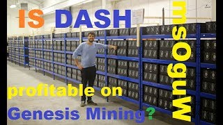 Are Dash Mining contracts profitable on Genesis Mining?