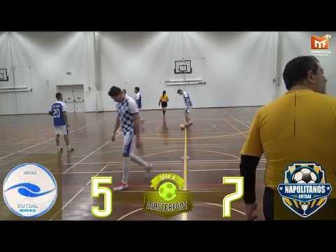MF|Futsal: ANTAS FUTSAL(5) vs (7)NAPOLITANOS - Jogo