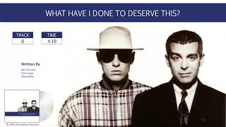Pet Shop Boys / Discography: Singles Collection / What Have I Done To Deserve This?  (Audio)