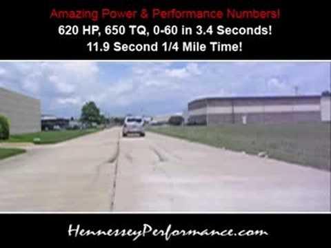620 HP Hennessey SRT600 Turbo Jeep SRT8  YouTube