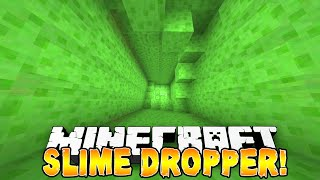Minecraft - SLIME DROPPER! (Epic Drops & Jumps) w/Preston, Vikkstar, Woofless, Pete & Lachlan!