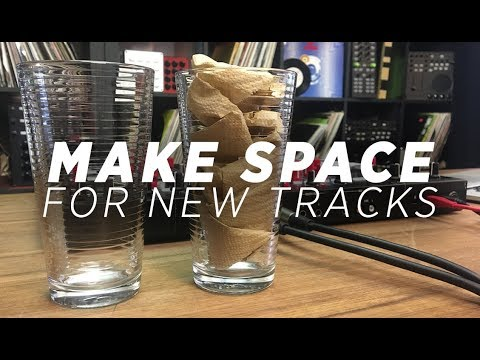 DJ Mixing Techniques: Making Space To Add New Tracks