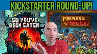 March 1 Kickstarter Round Up -  21 More New Board Game Campaigns! Analysis \u0026 Thoughts!